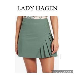 Lady Hagen pleated golf skort